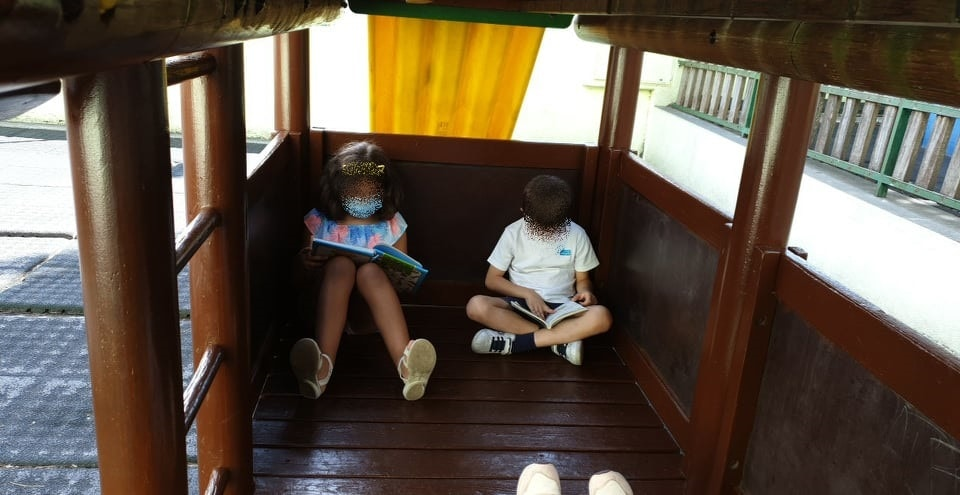Tarde de leitura na turma do 3º ano