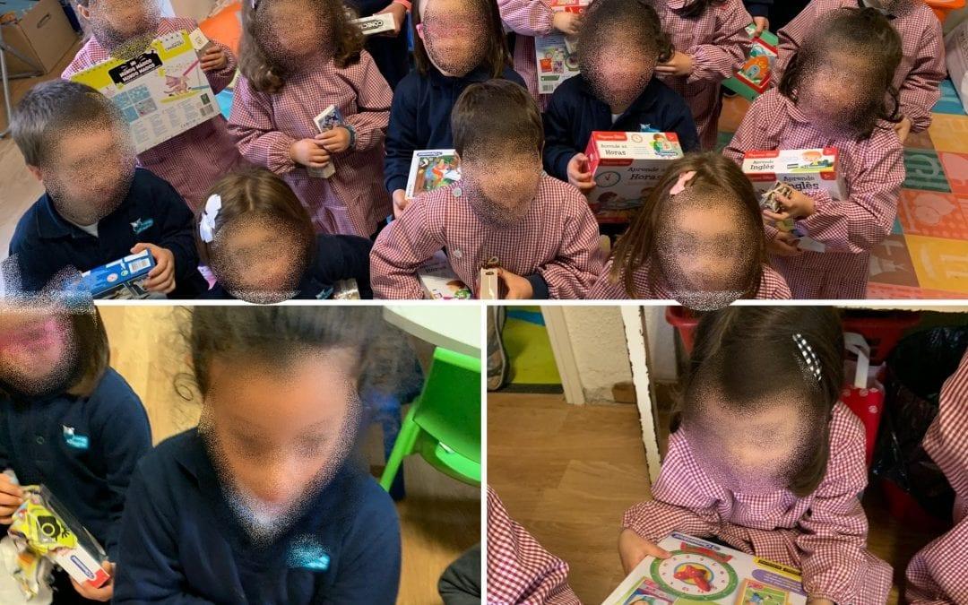 Espírito Natalício na sala dos 5 anos