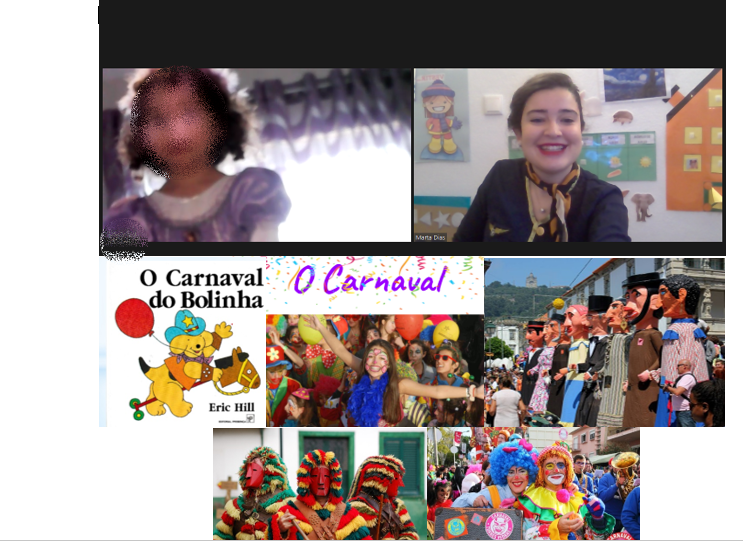 Sala 2 anos e os festejos de carnaval