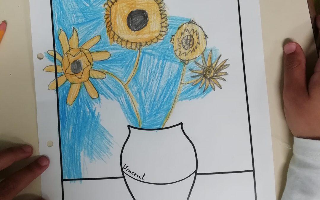 Expressão Plástica: Vicent Van Gogh